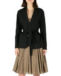 Isabel Marant Etoile Black Idony Cotton Blazer