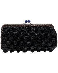 Missoni - Crochet Straw Clutch - Lyst