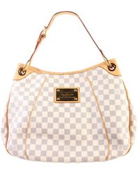 Louis Vuitton Monogram Galliera Damier Azur Pm Tote Bag - Multicolour