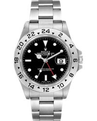 Rolex - Black Stainless Steel Explorer Ii Automatic 16570 Wristwatch 40 Mm - Lyst
