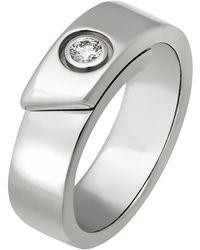 Cartier 18k White Gold Diamond Ring
