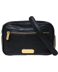 Marc By Marc Jacobs Black Leather Sally Shoulder Bag