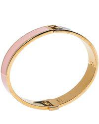 Fendi - The Sta Multicolor Enamel Gold Tone Bracelet - Lyst