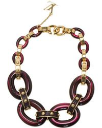 Louis Vuitton - Gimme A Clue Resin Necklace - Lyst