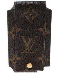 5119db0e6b9f Lyst - Louis Vuitton Monogram Canvas Etui Lunette Mm Glasses Case in ...