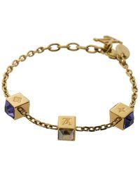 Louis Vuitton - Gamble Tone Bracelet - Lyst