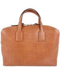Loewe Brown Leather Briefcase