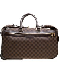 Louis Vuitton - Damier Canvas Eole 50 Rolling Luggage - Lyst