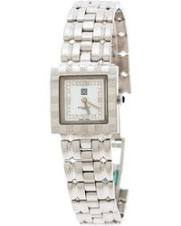 Givenchy Silver White Stainless Steel Apsaras Cal302005 Women's Wristwatch 23 Mm - Metallic