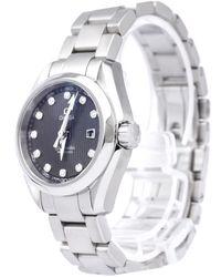 Omega Seamaster Black Steel Watch