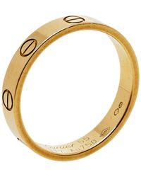 Cartier Love 18k Yellow Gold Wedding Band Ring