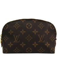 Louis Vuitton Monogram Cosmetic Pouch - Brown