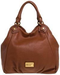 Marc By Marc Jacobs Brown Leather Classic Q Francesca Shoulder Bag