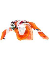 Chanel Multicolor Colorama Silk Twill Scarf