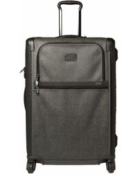 Tumi - Grey/brown Pvc Alpha 2 Medium Trip Expandable 4 Wheel Packing Case Luggage - Lyst