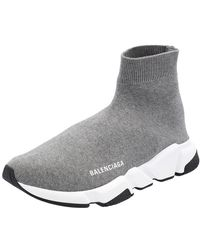 Balenciaga Gray Speed Sneakers