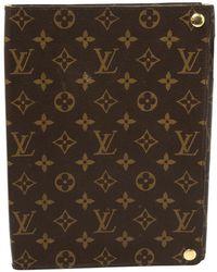 Louis Vuitton Monogram Canvas Ipad Foldable Hardcase - Brown
