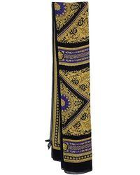 Versace Multicolour Barocco Print Silk Scarf