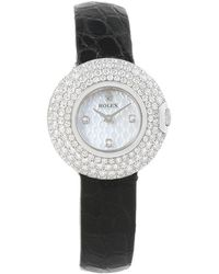 Rolex - Mother Of Pearl 18k Gold Diamond Cellini Orchid Women's Wristwatch 23mm - Lyst