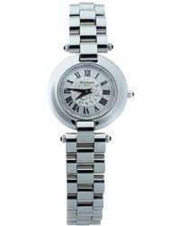 Balmain Silver Stainless Steel 2111 Women's Wristwatch 28 Mm - Metallic