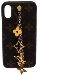 Louis Vuitton Monogram Canvas Charms Iphone X/xs Case - Brown