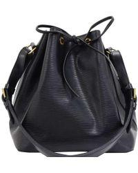 Louis Vuitton - Noir Epi Leather Petit Noe Bag - Lyst