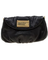Marc By Marc Jacobs Black Leather Classic Q Karlie Crossbody Bag