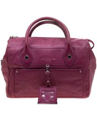 Marc By Marc Jacobs Pink Leather Preppy Satchel