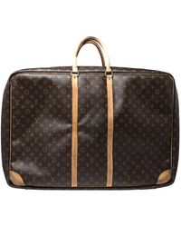 Louis Vuitton Monogram Canvas Sirius 70 Suitcase - Brown