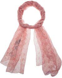 Dior - Cannage Print Silk Stole - Lyst