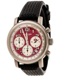 Chopard Red Titanium Mille Miglia Rosso Limited Edition Men's Wristwatch 40 Mm - Black