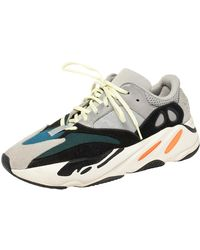 Yeezy Multicolour Mesh And Suede Boost 700 Wave Runner Trainers