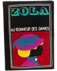 Olympia Le-Tan Multicolour Cloth Clutch Bag - Black