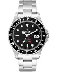 Rolex Submariner Black Steel Watch