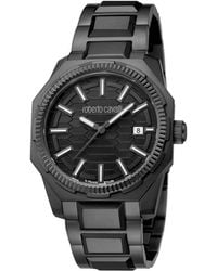 Roberto Cavalli - Stainless Steel Rv1g025m0061 Men's Wristwatch 40mm - Lyst