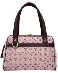 Louis Vuitton Lv Josephine Pm Hand Bag M92324 Monogram Mini Pink 0537