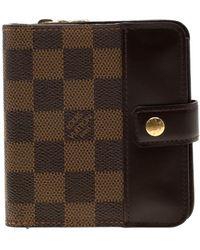 Louis Vuitton Monogram Canvas French Purse Wallet - Brown