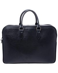 Louis Vuitton Black Epi Leather Dandy Mm Bag