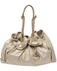 Dior Metallic Gold Leather Le Trente Hobo