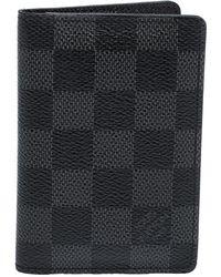 Louis Vuitton Damier Graphite Pocket Organizer - Black