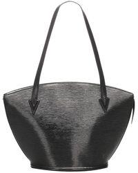 Louis Vuitton Black Epi Leather Saint Jacques Long Strap Gm Bag