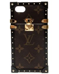 Louis Vuitton - Monogram Canvas Eye-trunk Iphone 7 Case - Lyst