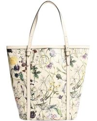 Gucci - Multicolor Leather Flora Nice Tote Bag - Lyst