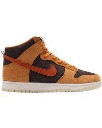 Nike Dunk High Dark Russet Us - Brown