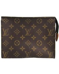Louis Vuitton Monogram Toiltery Pouch 19 - Brown