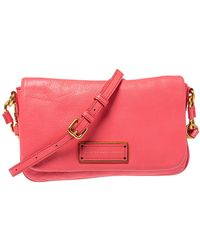 Marc By Marc Jacobs Orange Leather Too Hot To Handle Crossbody Bag