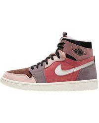Nike Jordan 1 High Zoom Air Cmft Canyon Rust Trainers - Multicolour