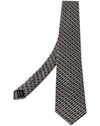 Tom Ford Monochrome Silk Jacquard Classic Tie - Black