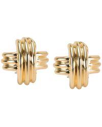 Tiffany & Co. X 18k Yellow Gold Earrings - Metallic