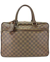 Louis Vuitton - Damier Ebene Canvas Icare Briefcase - Lyst
